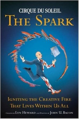 The spark igniting the creative fire that lives within us all
